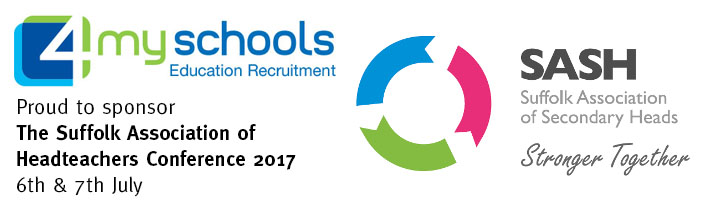 Suffolk Association of Headteachers Conference 2017 - 4myschools