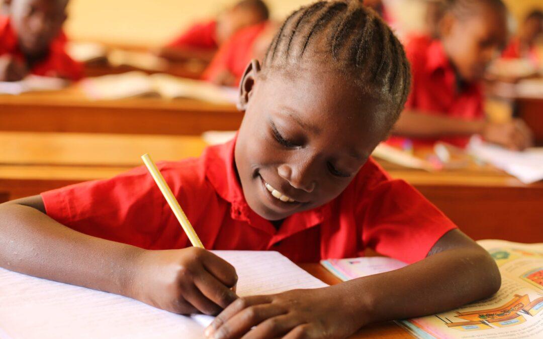 Classroom in Uganda