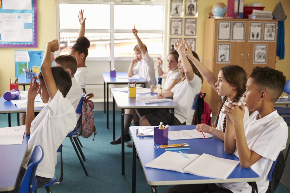 pupils learning in a classroom