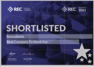 REC 4myschools Best Company to Work For